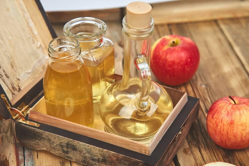 Apple Vinegar - remove pigmentation