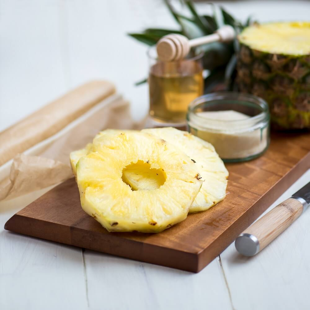 Pineapple for cough relief