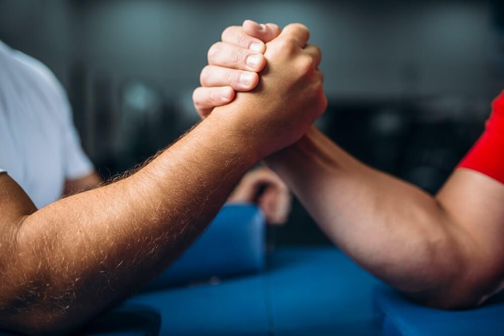 Arm wrestling exercises