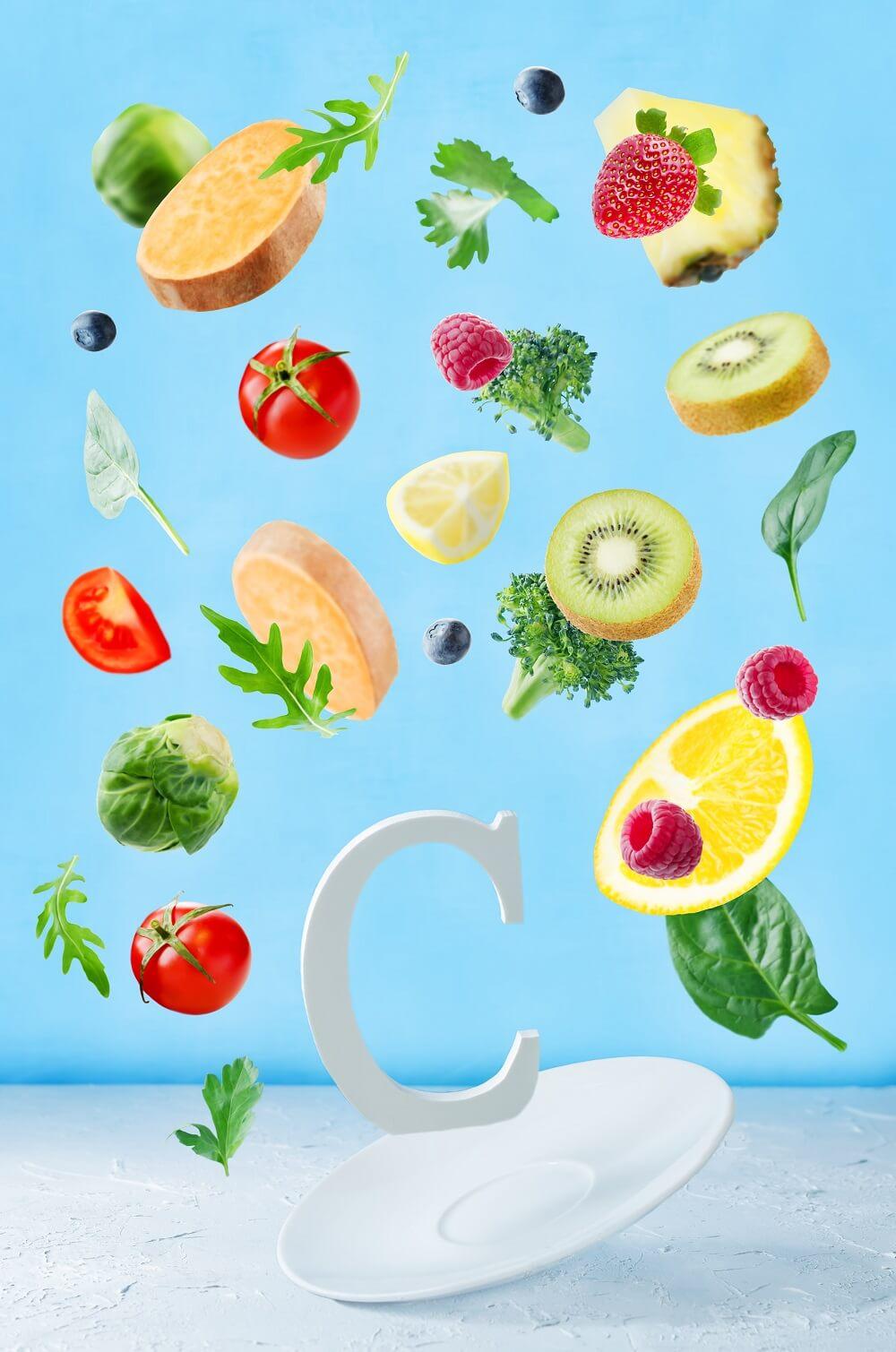 Melanin foods